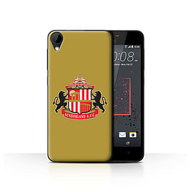 Official Sunderland AFC Case/Cover for HTC Desire 825/Gold Design/SAFC Football Club Crest Mobile phones
