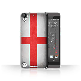 STUFF4 Case/Cover for HTC Desire 630 / England/English Design / Flags Collection Mobile phones