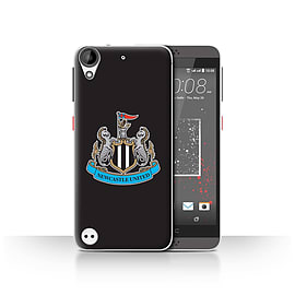 Official Newcastle United FC Case/Cover for HTC Desire 630/Colour/Black Design/NUFC Football Crest Mobile phones