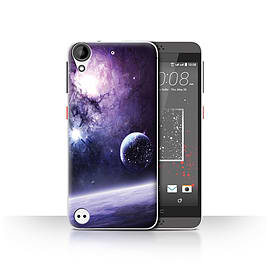 Official Chris Cold Case/Cover for HTC Desire 530/Planet/Moon Design/Alien World Cosmos Mobile phones
