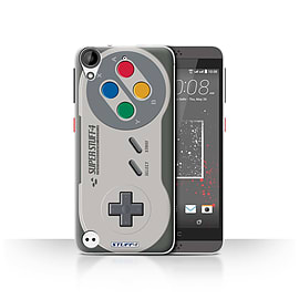 STUFF4 Case/Cover for HTC Desire 530 / Super Nintendo Design / Games Console Collection Mobile phones