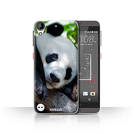 STUFF4 Case/Cover for HTC Desire 530 / Panda Bear Design / Wildlife Animals Collection Mobile phones