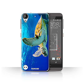 STUFF4 Case/Cover for HTC Desire 530 / Turtle Design / Wildlife Animals Collection Mobile phones
