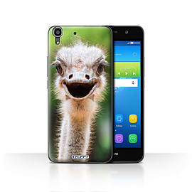 STUFF4 Case/Cover for Huawei Y6 / Ostrich/Emu Design / Wildlife Animals Collection Mobile phones