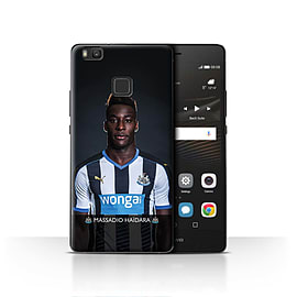Official Newcastle United FC Case/Cover for Huawei P9 Lite/Ha?dara Design/NUFC Football Player 15/16 Mobile phones