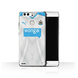 Official Newcastle United FC Case/Cover for Huawei P9/Footballer Design/NUFC Away Shirt/Kit 15/16 Mobile phones