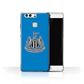 Official Newcastle United FC Case/Cover for Huawei P9/Mono/Blue Design/NUFC Football Crest Mobile phones
