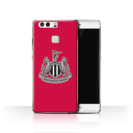 Official Newcastle United FC Case/Cover for Huawei P9/Mono/Red Design/NUFC Football Crest Mobile phones