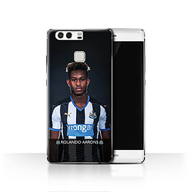 Official Newcastle United FC Case/Cover for Huawei P9/Aarons Design/NUFC Football Player 15/16 Mobile phones