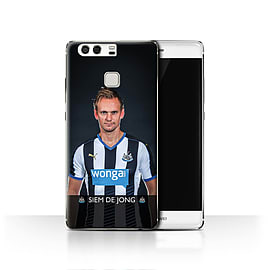 Official Newcastle United FC Case/Cover for Huawei P9/De Jong Design/NUFC Football Player 15/16 Mobile phones