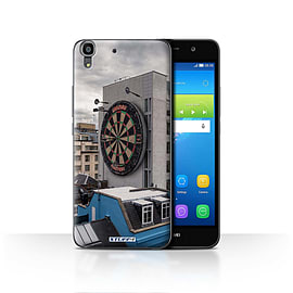 STUFF4 Case/Cover for Huawei Y6 / Bullseye Design / Imagine It Collection Mobile phones