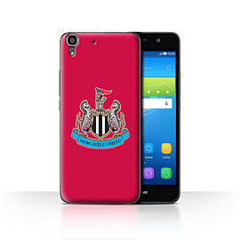 Official Newcastle United FC Case/Cover for Huawei Y6/Colour/Red Design/NUFC Football Crest Mobile phones