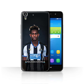 Official Newcastle United FC Case/Cover for Huawei Y6/Aarons Design/NUFC Football Player 15/16 Mobile phones
