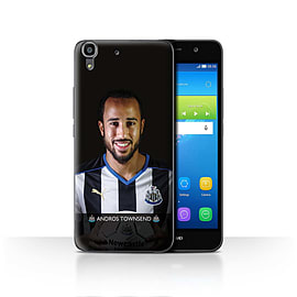 Official Newcastle United FC Case/Cover for Huawei Y6/Townsend Design/NUFC Football Player 15/16 Mobile phones
