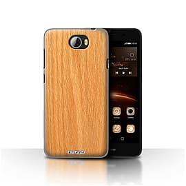 STUFF4 Case/Cover for Huawei Y5II/Y5 2 / Pine Design / Wood Grain Effect/Pattern Collection Mobile phones