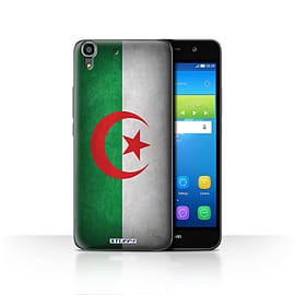 STUFF4 Case/Cover for Huawei Y6 / Algeria/Algerian Design / Flags Collection Mobile phones