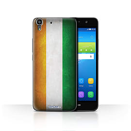 STUFF4 Case/Cover for Huawei Y6 / Ivory Coast Design / Flags Collection Mobile phones