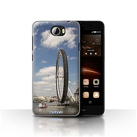 STUFF4 Case/Cover for Huawei Y5II/Y5 2 / London Eye Design / Imagine It Collection Mobile phones