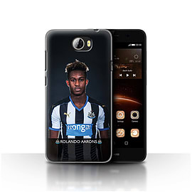 Newcastle United FC Case/Cover for Huawei Y5II/Y5 2/Aarons Design/NUFC Football Player 15/16 Mobile phones
