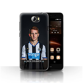 Newcastle United FC Case/Cover for Huawei Y5II/Y5 2/Colback Design/NUFC Football Player 15/16 Mobile phones