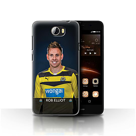 Newcastle United FC Case/Cover for Huawei Y5II/Y5 2/Elliot Design/NUFC Football Player 15/16 Mobile phones
