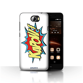 STUFF4 Case/Cover for Huawei Y5II/Y5 2 / Kapow! Design / Comics/Cartoon Words Collection Mobile phones