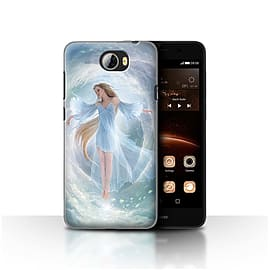 Official Elena Dudina Case/Cover for Huawei Y5II/Y5 2 / Air Dress Design / Fantasy Angel Collection Mobile phones