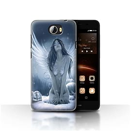 Official Elena Dudina Case/Cover for Huawei Y5II/Y5 2 / La Nieve Design / Fantasy Angel Collection Mobile phones