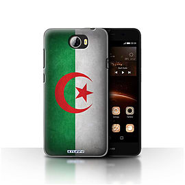 STUFF4 Case/Cover for Huawei Y5II/Y5 2 / Algeria/Algerian Design / Flags Collection Mobile phones