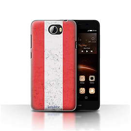 STUFF4 Case/Cover for Huawei Y5II/Y5 2 / Austria/Austrian Design / Flags Collection Mobile phones
