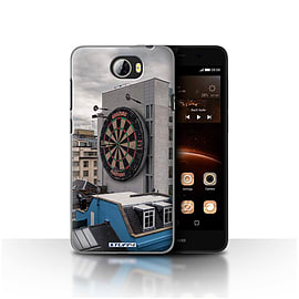 STUFF4 Case/Cover for Huawei Y5II/Y5 2 / Bullseye Design / Imagine It Collection Mobile phones
