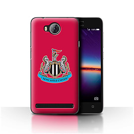 Official Newcastle United FC Case/Cover for Huawei Y3II/Y3 2/Colour/Red Design/NUFC Football Crest Mobile phones