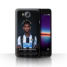 Newcastle United FC Case/Cover for Huawei Y3II/Y3 2/Aarons Design/NUFC Football Player 15/16 Mobile phones