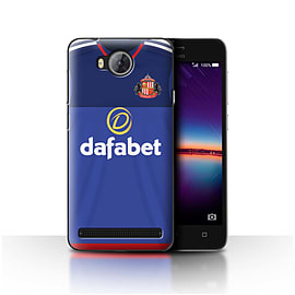 Official Sunderland AFC Case/Cover for Huawei Y3II/Y3 2/Goalkeeper Design/SAFC Home Shirt/Kit 15/16 Mobile phones