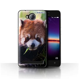 STUFF4 Case/Cover for Huawei Y3II/Y3 2 / Racoon Design / Wildlife Animals Collection Mobile phones