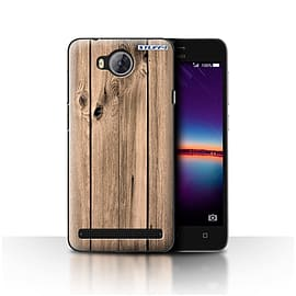 STUFF4 Case/Cover for Huawei Y3II/Y3 2 / Plank Design / Wood Grain Effect/Pattern Collection Mobile phones