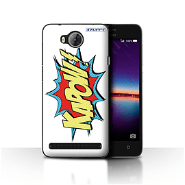 STUFF4 Case/Cover for Huawei Y3II/Y3 2 / Kapow! Design / Comics/Cartoon Words Collection Mobile phones