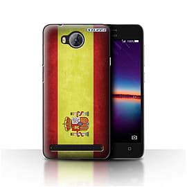 STUFF4 Case/Cover for Huawei Y3II/Y3 2 / Spain/Spanish Design / Flags Collection Mobile phones