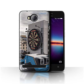 STUFF4 Case/Cover for Huawei Y3II/Y3 2 / Bullseye Design / Imagine It Collection Mobile phones
