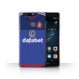 Official Sunderland AFC Case/Cover for Huawei P9 Plus/Goalkeeper Design/SAFC Home Shirt/Kit 15/16 Mobile phones
