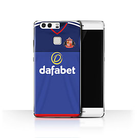 Official Sunderland AFC Case/Cover for Huawei P9/Goalkeeper Design/SAFC Home Shirt/Kit 15/16 Mobile phones