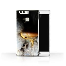 STUFF4 Case/Cover for Huawei P9 / Eagle/Bird of Prey Design / Wildlife Animals Collection Mobile phones