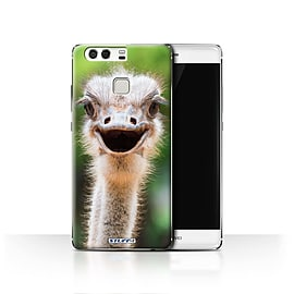STUFF4 Case/Cover for Huawei P9 / Ostrich/Emu Design / Wildlife Animals Collection Mobile phones