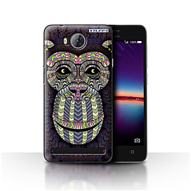 STUFF4 Case/Cover for Huawei Y3II/Y3 2 / Monkey-Colour Design / Aztec Animal Design Collection Mobile phones
