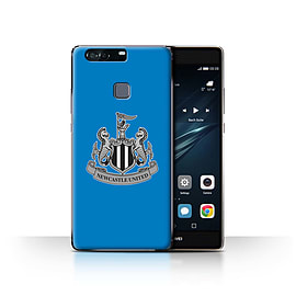 Official Newcastle United FC Case/Cover for Huawei P9 Plus/Mono/Blue Design/NUFC Football Crest Mobile phones