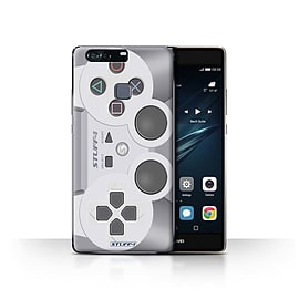 STUFF4 Case/Cover for Huawei P9 Plus / Playstation PS1 Design / Games Console Collection Mobile phones