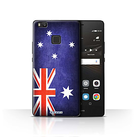 STUFF4 Case/Cover for Huawei P9 Lite / Australia/Australian Design / Flags Collection Mobile phones