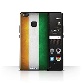 STUFF4 Case/Cover for Huawei P9 Lite / Ivory Coast Design / Flags Collection Mobile phones