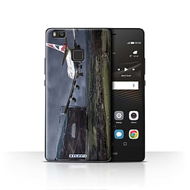 STUFF4 Case/Cover for Huawei P9 Lite / Rough Landing Design / Imagine It Collection Mobile phones