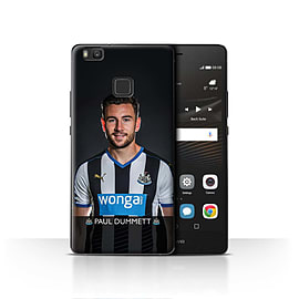 Official Newcastle United FC Case/Cover for Huawei P9 Lite/Dummett Design/NUFC Football Player 15/16 Mobile phones